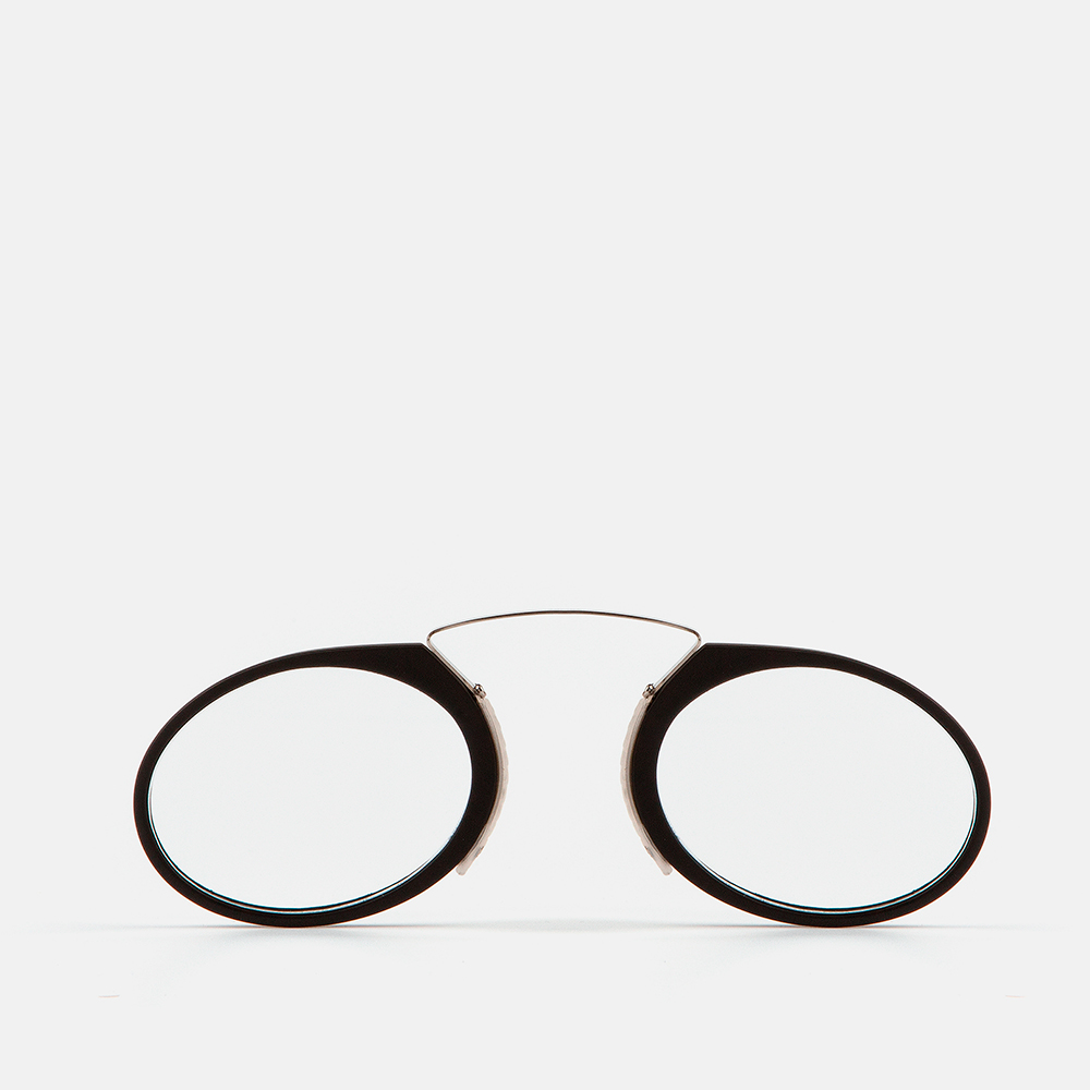 mó mini reading GLASSES, black, large