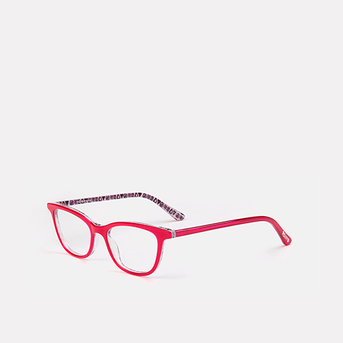 mó junior 70A A, dark pink/pattern, medium