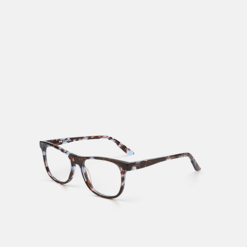 mó junior 73A A, tortoiseshell-blue, medium