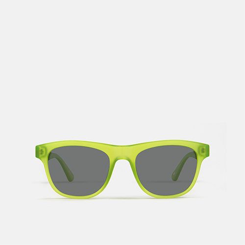 mó sun kids 89I, fluor green, medium