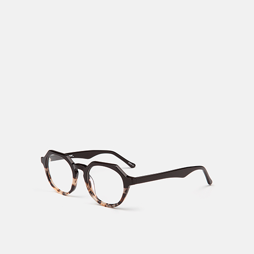 mó geek 59A, black/havana ivory, medium