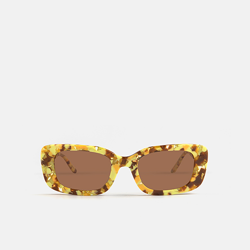 mó sun geek 95A A, yellow-brown, medium