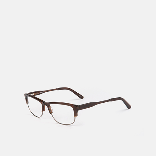 mó upper 431M, brown/gun metal, medium