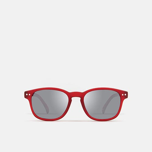 mó sun kids 67I B, red/silver, medium