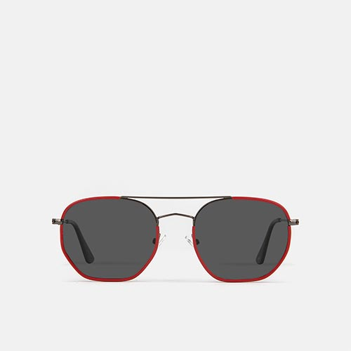 mó sun geek 60M A, red/gun metal, medium