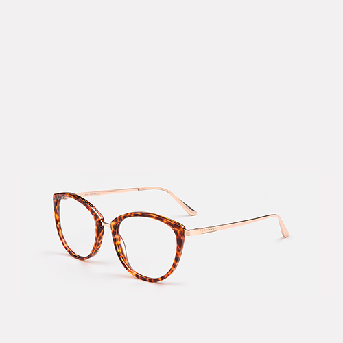 mó upper 387A A, havana/rose gold, medium