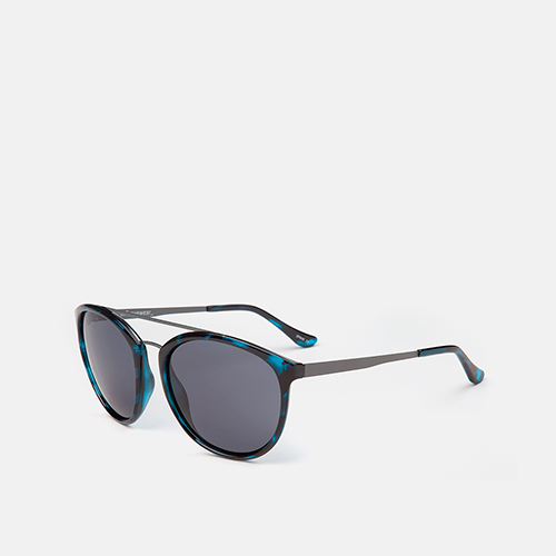 mó sun one rx 96I A, blau havana/gun metal, medium