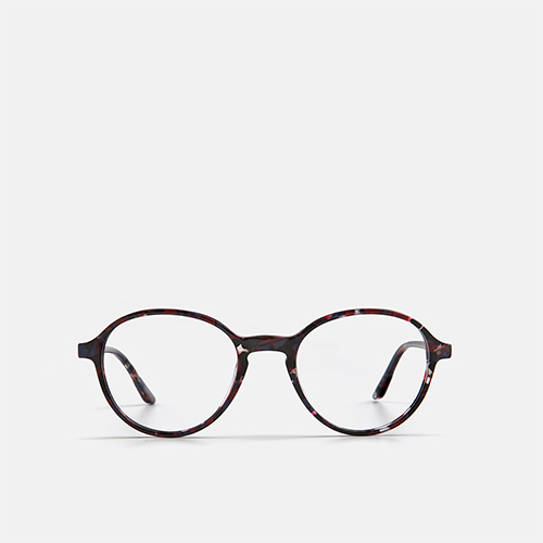 mó upper 454A A, black-red, medium