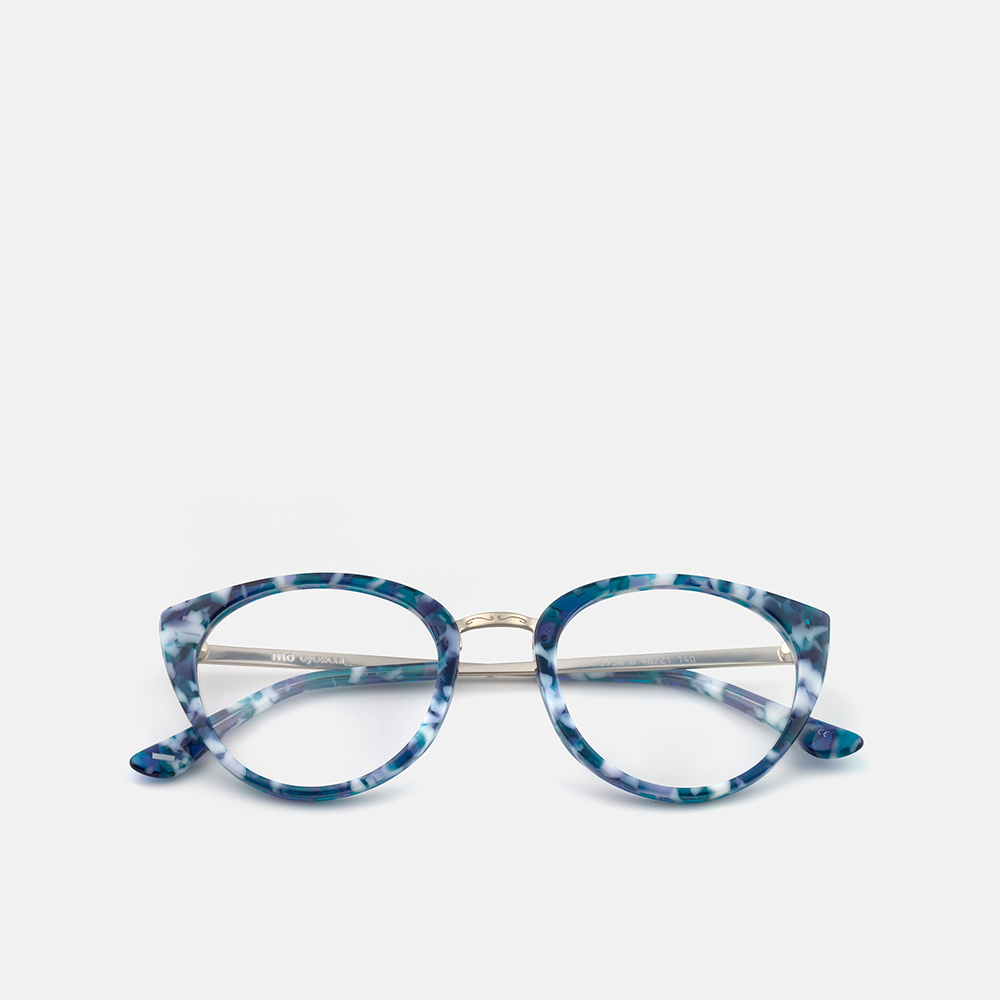 mó upper 393A B, blue-white/silver, large