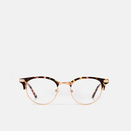 mó upper 389M A, havana-pink/gold, medium