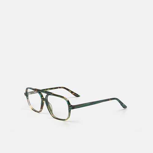 mó junior 77A A, green-tortoiseshell, medium
