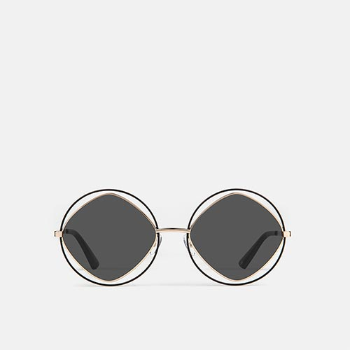 mó sun geek 54M, black/gold, medium