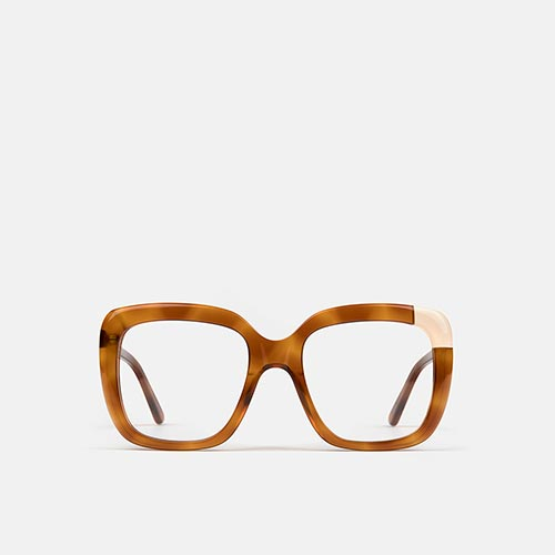 mó geek 61A, havana/beige, medium
