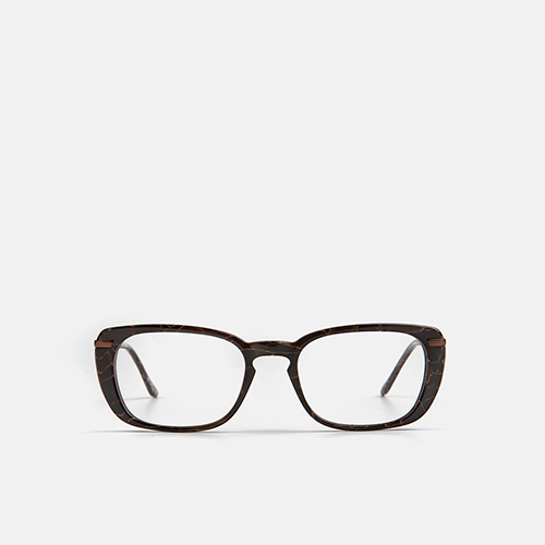 mó upper 458A A, marble brown, medium