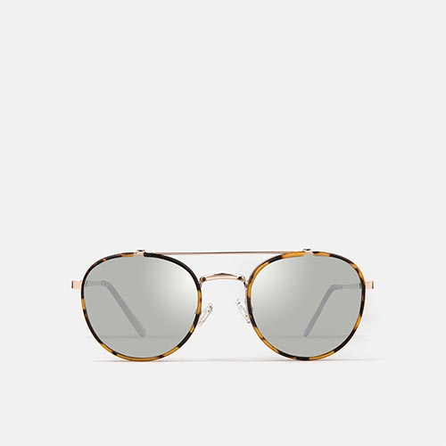 mó sun geek 62M, havana/light gold, medium