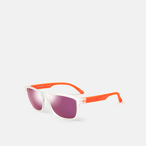 mó sun kids 71I, crystal/orange, medium