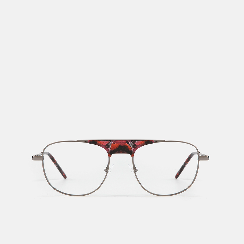 mó upper 425M A, gun metal/red, large
