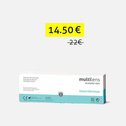 multilens silicone 1 day, , medium