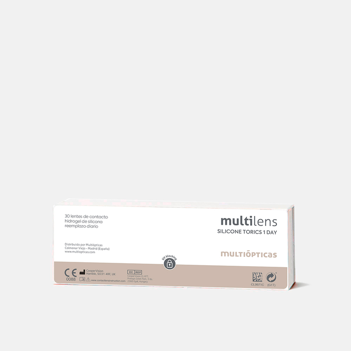 multilens silicone torics 1 day, , medium