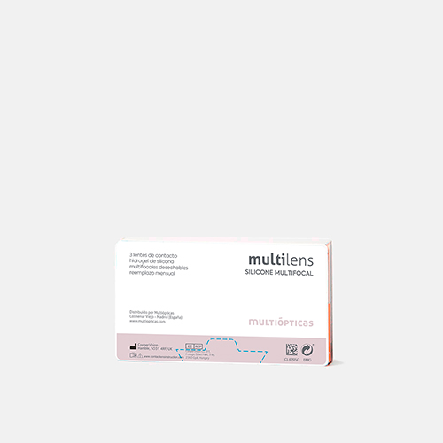 multilens silicone multifocal, , medium